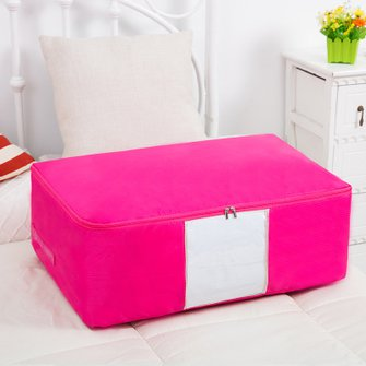 Washable Portable Container  Print Oxford Clothes Quilts Storage Bags