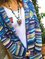 Women Multicolor Bohemian Long Sleeve Cardigan Sweater