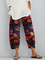 Printed Geometric Pants