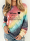 Plus size Crew Neck Casual Sweatshirt