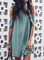 New Women Chic Plus Size Vintage Holiday Boho Casual V Neck Shift Dresses