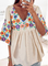Plus size Floral Boho Shirts & Tops
