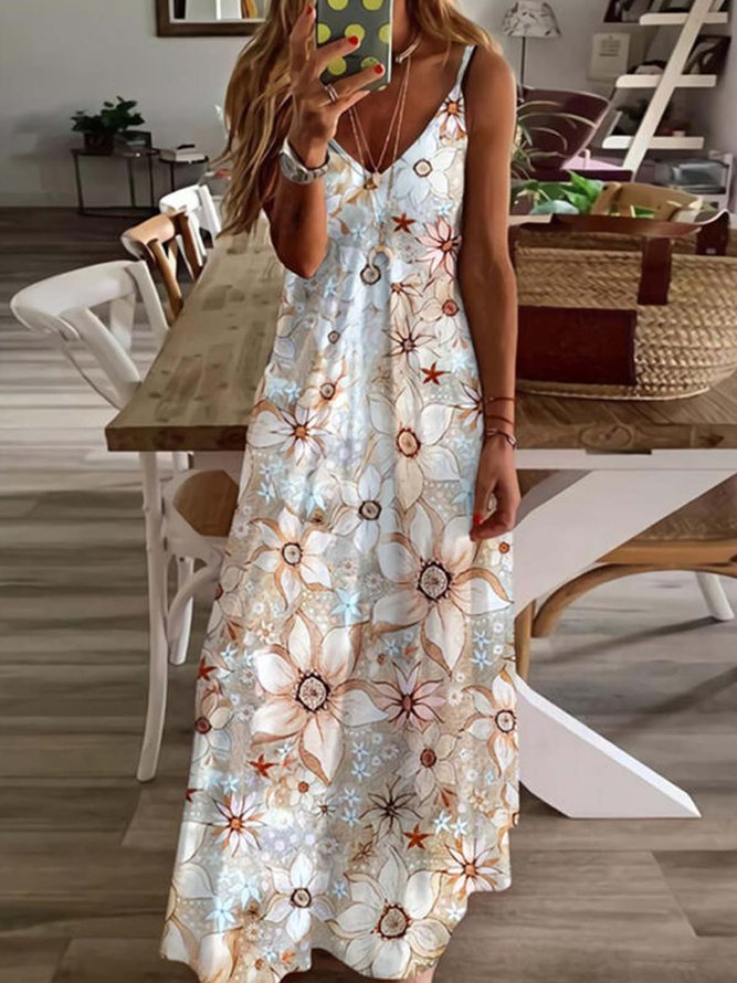 Holiday Printed/dyed Dress...