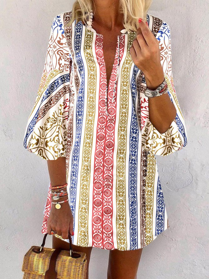 Cotton-Blend Holiday Dress...