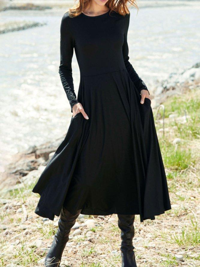 Casual Loosen Dress...