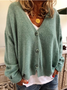 Special Price / Fashion Solid Cardigans Wool Blend Sweaters