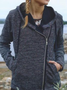 Plus size Long Sleeve Hoodie Outerwear