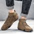 Casual Faux Suede Split Joint Casual Shoes