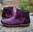 Casual Purple Boots Winter Sneakers