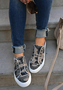 Winter Flat Heel Sneakers