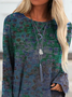 Long Sleeve Boho Shirts & Tops
