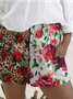 Lady Leopard Floral Pants