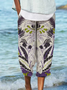 Long Sleeve Shift Floral Pants