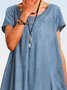 Casual Denim A-Line Dresses