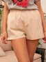 Women Vintage Summer Casual Pants Shorts