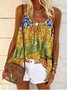 Bohemian casual strap top
